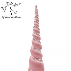 Mauve Unicorn Horn for Horse Pony