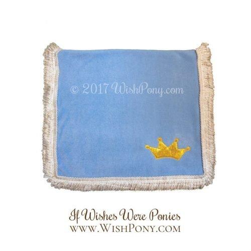 Sky Blue Princess Saddle Blanket