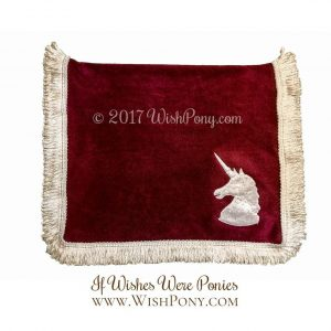 Unicorn Saddle Blanket