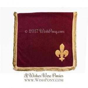 Medieval Fleur de Lis Saddle Blanket